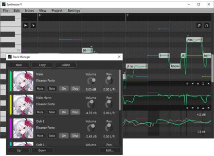 Dreamtronics Synthesizer V Editor
