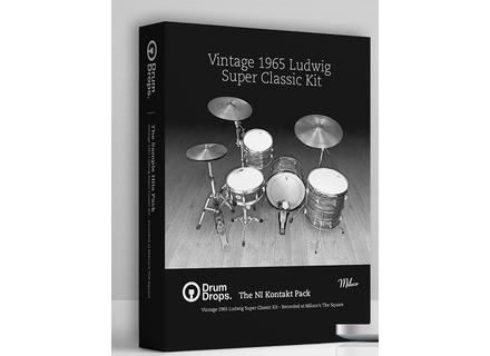 Drumdrops 1965 Ludwig Super Classic Kit - Kontakt Version