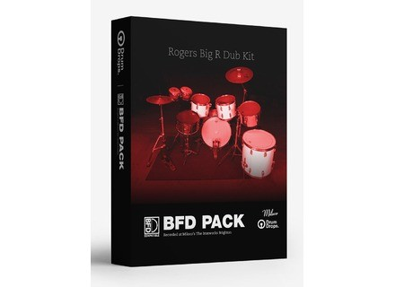 Drumdrops 1970s Rogers Big R Dub Kit - BFD Pack
