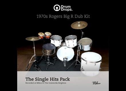 Drumdrops 1970s Rogers Big R Dub Kit - Single Hits Pack