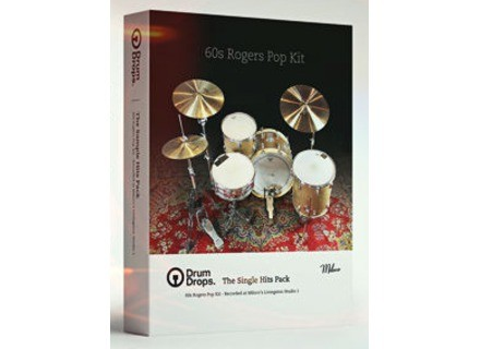 Drumdrops 60s Rogers Pop Kit - Single Hits Pack