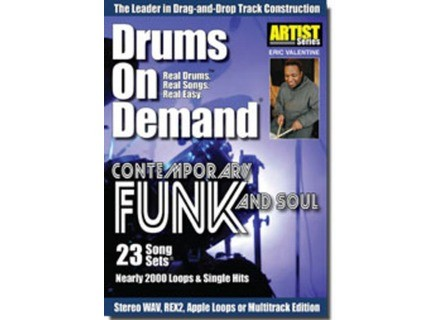 Drums On Demand Contemporary Funk & Soul