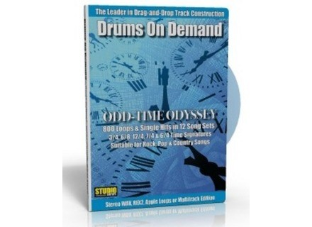 Drums On Demand Odd-Time Odyssey