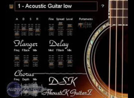 DSK Music AkoustiK GuitarZ [Freeware]
