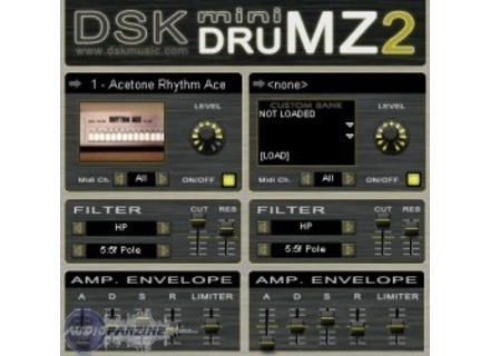 DSK Music [Freeware] mini DRUMZ 2