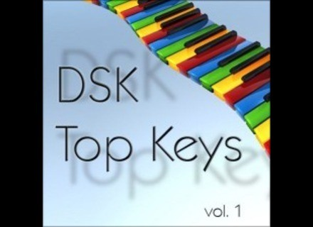 DSK Music Top Keys vol. 1