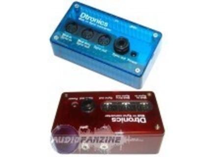 Dtronics MS 06 Midi to Sync converter