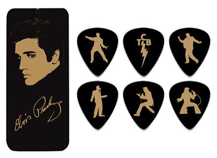 Dunlop Elvis Portrait Collection Pick Tins