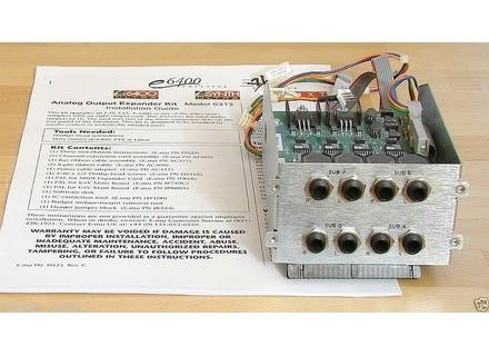 E-MU Analog Output Expander 6313