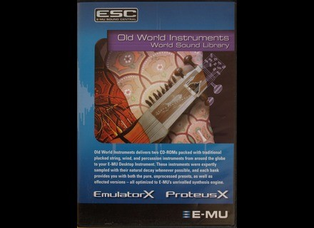 E-MU Old World Instruments