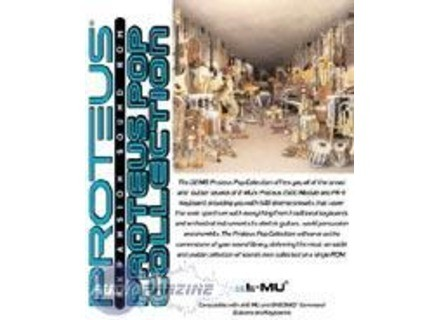 E-MU Proteus Pop Collection