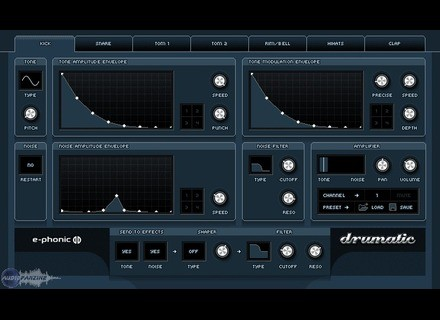 E-Phonic Drumatic 3 [Freeware]