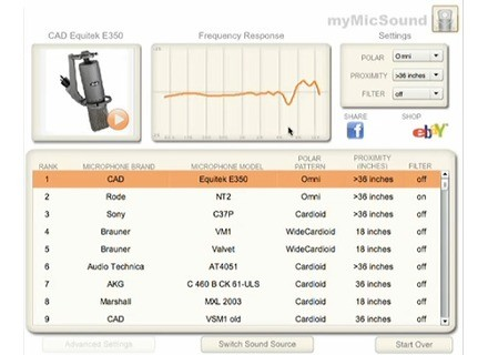 Ear Machine myMicSound