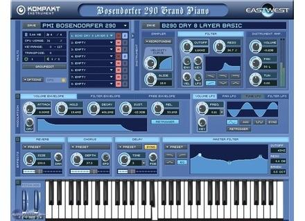 EastWest PMI Bosendorfer 290 Grand Piano