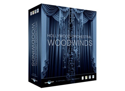 EastWest Quantum Leap Hollywood Orchestral Woodwinds Gold Edition