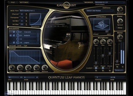 EastWest Quantum Leap Pianos