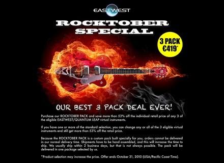 EastWest Rocktober Pack