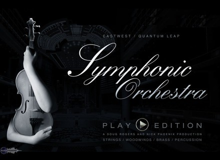 EastWest Symphonic orchestra platinium Play Edition
