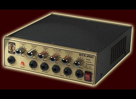 Eden Bass Amplification WTX-260