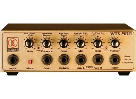 Eden Bass Amplification WTX-500