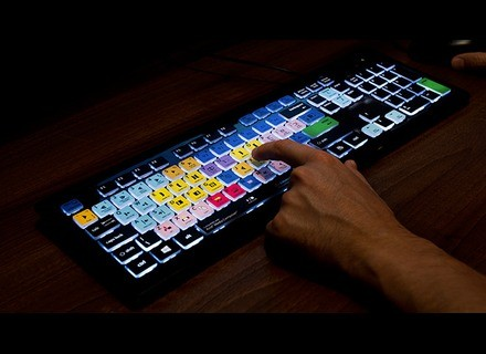 Editors Keys Backlit Shortcut Editing Keyboard