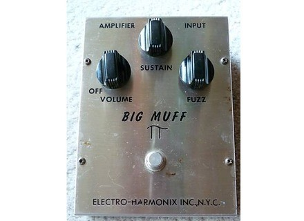 "Electro-Harmonix Big Muff Pi ""Triangle Knobs"""