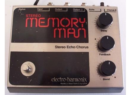 Electro-Harmonix Stereo Memory Man