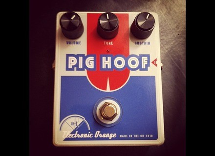 Electronic Orange Pig Hoof
