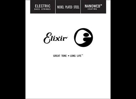 Elixir Strings Nanoweb Bass Single String