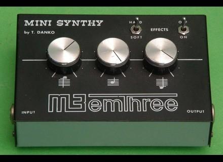 Emthree Mini Synthy