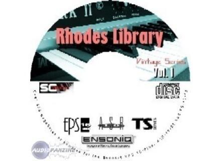 Ensoniq Rhodes Library