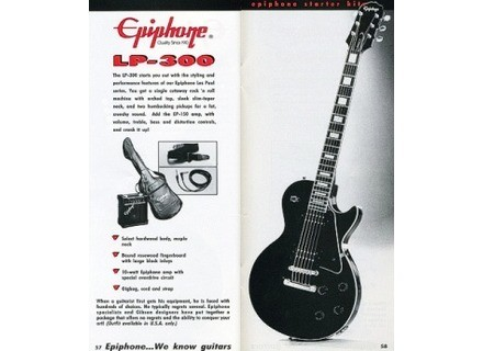 Epiphone Les Paul-300 Standard average used price - Audiofanzine