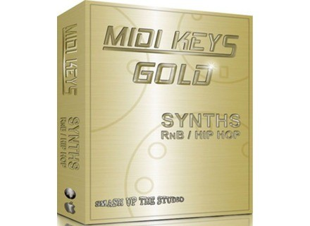 Equinox Sounds MIDI Keys Gold: Synths RnB & Hip Hop