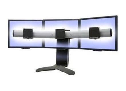 Ergotron LX - Triple Display Lift Stand - Pied pour Triple écran plat