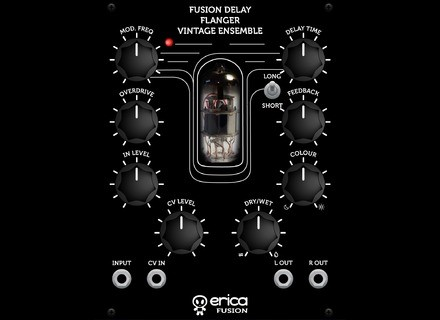 Erica Synths Fusion Delay/Flanger/Vintage Ensemble