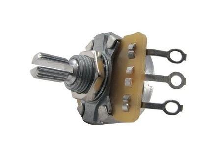 Ernie Ball 250K Split Shaft Potentiometer For Instruments