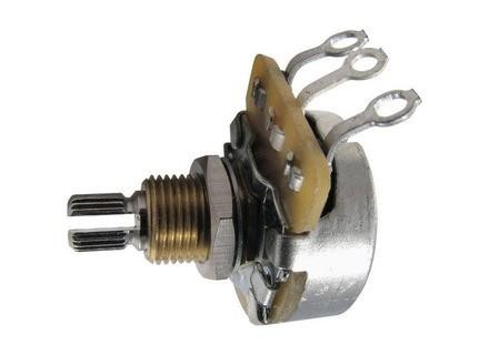Ernie Ball 500K Split Shaft Potentiometer For Instruments