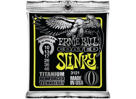 Ernie Ball Coated Titanium RPS Electric Slinky