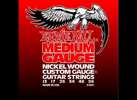 Ernie Ball Electric Nickel Wound w/ Wound G