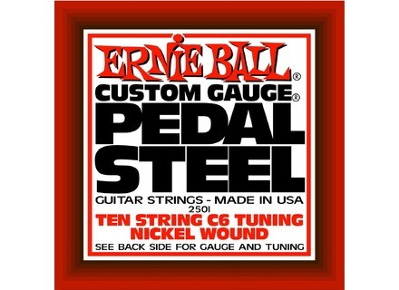 Ernie Ball Pedal Steel Nickel Wound 10-String C6 Tuning