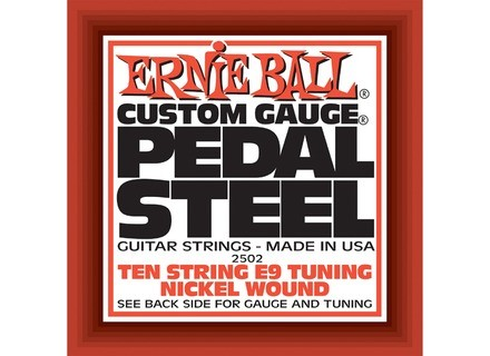 Ernie Ball Pedal Steel Nickel Wound 10-String E9 Tuning