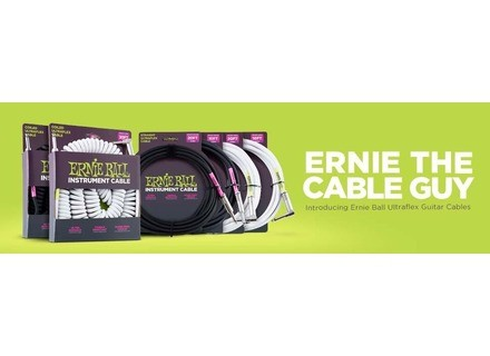 Ernie Ball Ultraflex Instrument Cable
