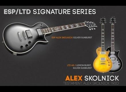 ESP Alex Skolnick - Silver Sunburst