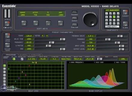 Eventide H3000 Band Delays TDM