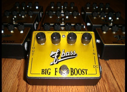 F Bass Big F Boost