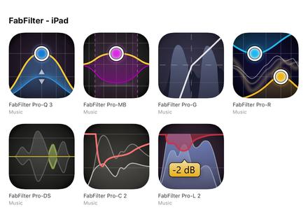 FabFilter iOS Pro Bundle