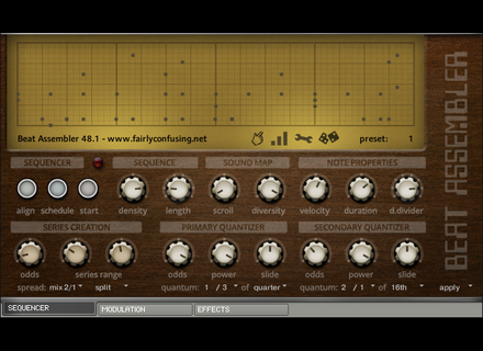 Fairly Confusing Waveforms Beat Assembler