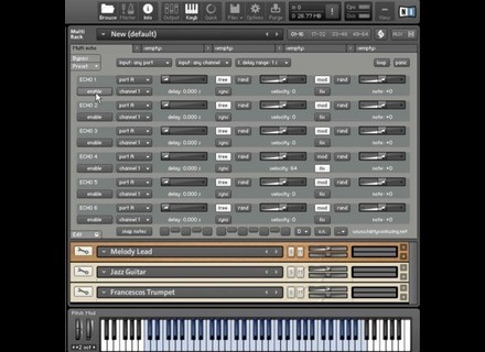 Fairly Confusing Waveforms MIDI Echo