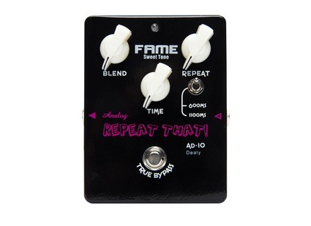 Fame AD-10 BL Repeat That! Black Edition