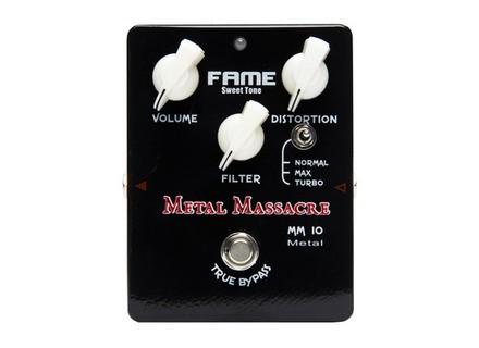 Fame MM-10 BL Metal Massacre Black Edition